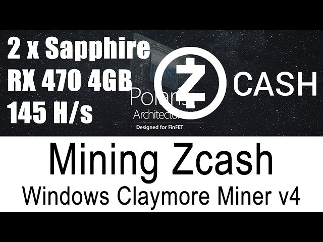 Claymore zcash miner